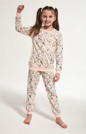 Cornette Young Girl 033/118 Polar Bear dł/r 134-164 piżama dziewczęca