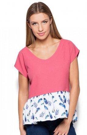 Katrus K431 bluzka różowa