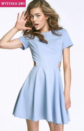 *Alore AL26 sukienka błękitna