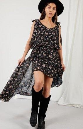 Asymetryczna sukienka maxi LG548/D15