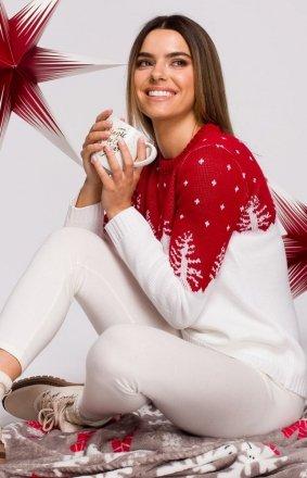Świąteczny sweter choinki MXS05