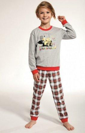 Cornette Kids Boy 593/88 Bulldozer dł/r 86-128 piżama chłopięca