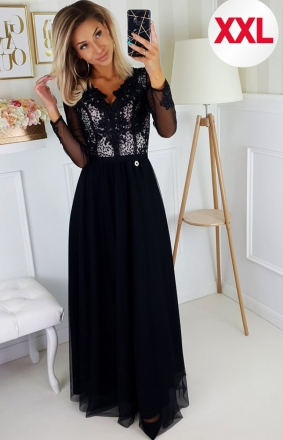 Bicotone 2167/1-16 MAXI sukienka wieczorowa