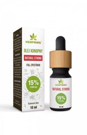 HempKing Olej konopny CBD Natural 15%