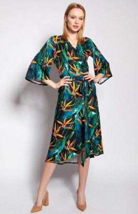 Sukienka kopertowa bambus SUK186