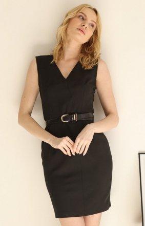 Taliowana mini sukienka damska Z377