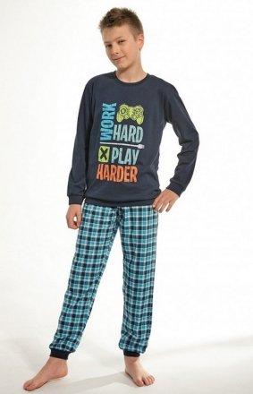 Cornette Young Boy 966/97 Game dł/r 134-164 piżama chłopięca