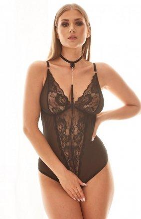 Cassia seksowne body z chockerem