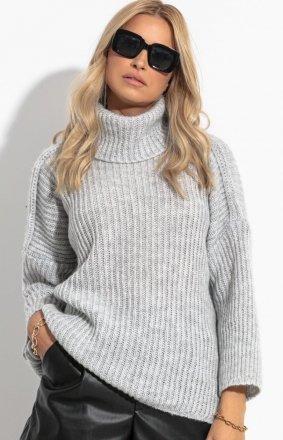Sweter z golfem Fobya F1270