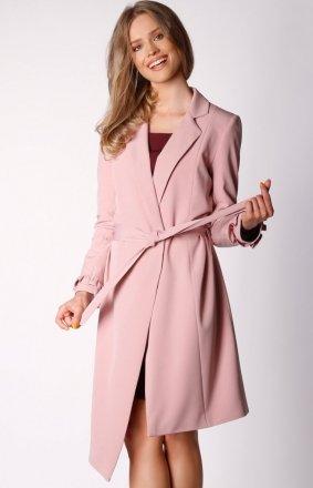 Wiązany asymetryczny płaszcz NA035LP