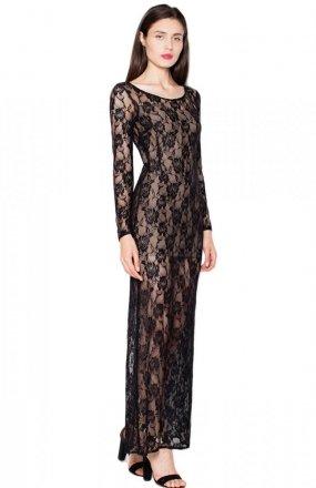 Venaton VT091 sukienka czarna