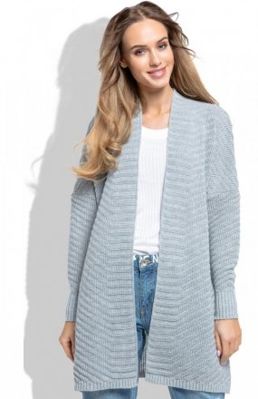 FIMFI I258 sweter szary