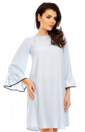 Nommo NA199 sukienka błękitna