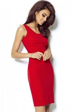 Seksowna czerwona sukienka Linda