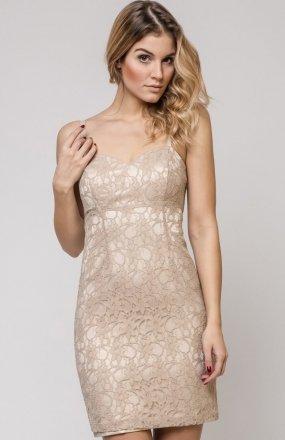 Vera Fashion Doris sukienka beżowa