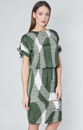 Click Fashion Emporia sukienka khaki
