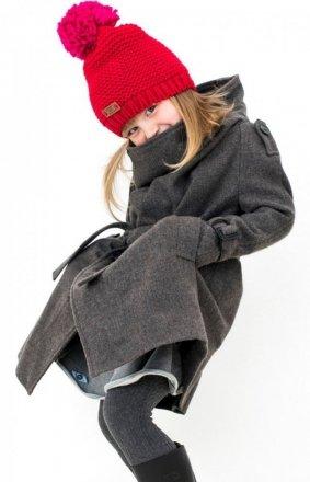 Art Of Polo 16906 Pomponette czapka dziecięca