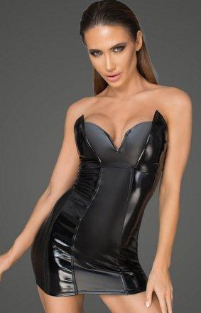 *Seksowna sukienka powerwetlook F195