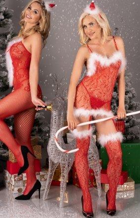 Livia Corsetti Catriona Christmas bodystocking
