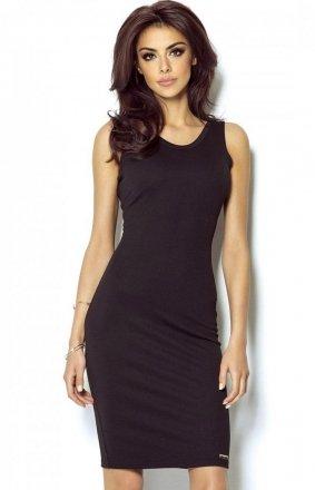 Seksowna mała czarna sukienka Linda