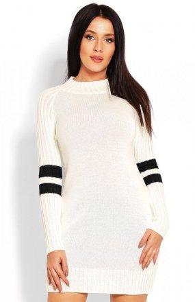 PeekaBoo 70011 tunika sweterkowa kremowa
