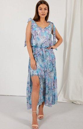 Asymetryczna sukienka maxi LG548/D14