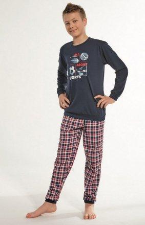 Cornette Kids Boy 593/100 Sport dł/r 86-128 piżama chłopięca
