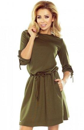 Numoco 176-2 sukienka zielona