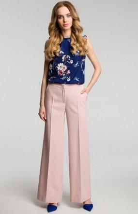 Moe M378 spodnie pudrowy róż