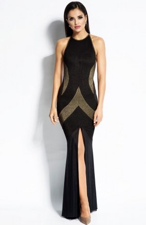 Dursi Michelle sukienka złota