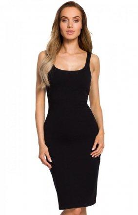 Sukienka ołówkowa czarna M414