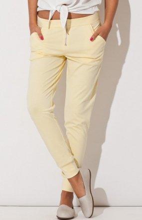 Katrus K153 spodnie żółte