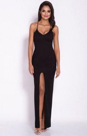 Seksowna sukienka Divan czarna