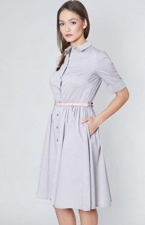 Click Fashion Lina sukienka szara