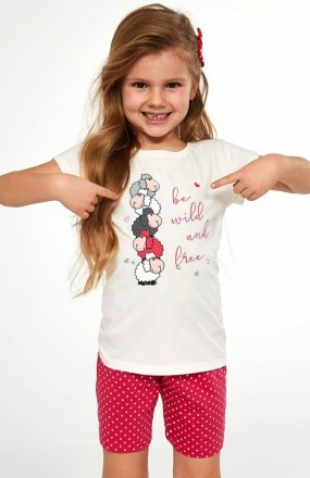 Cornette Kids Girl 787/82 Be Wild piżama