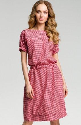 Moe M376 sukienka czerwona