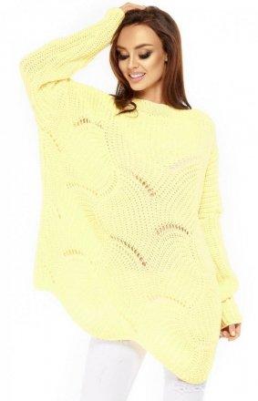 *Lemoniade LS209 sweter cytrynowy