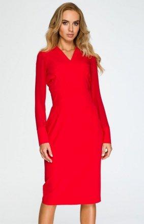 Style S136 sukienka czerwona