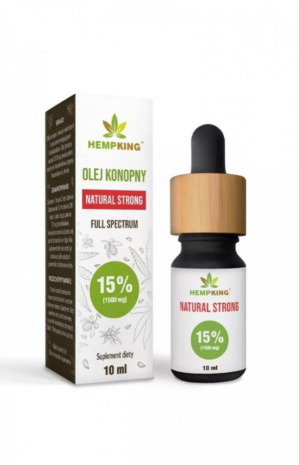 HempKing Olej konopny 5% z witaminą D3-1