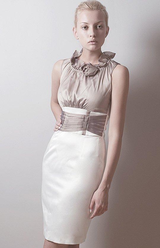 Vera Fashion Nicole sukienka ecru