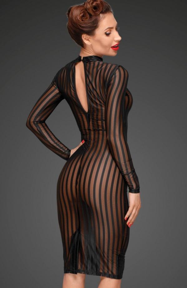 Noir F182 sukienka erotyczna tył