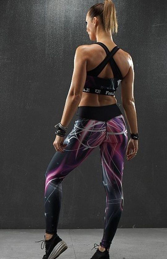 FeelJ! Glam legginsy tył