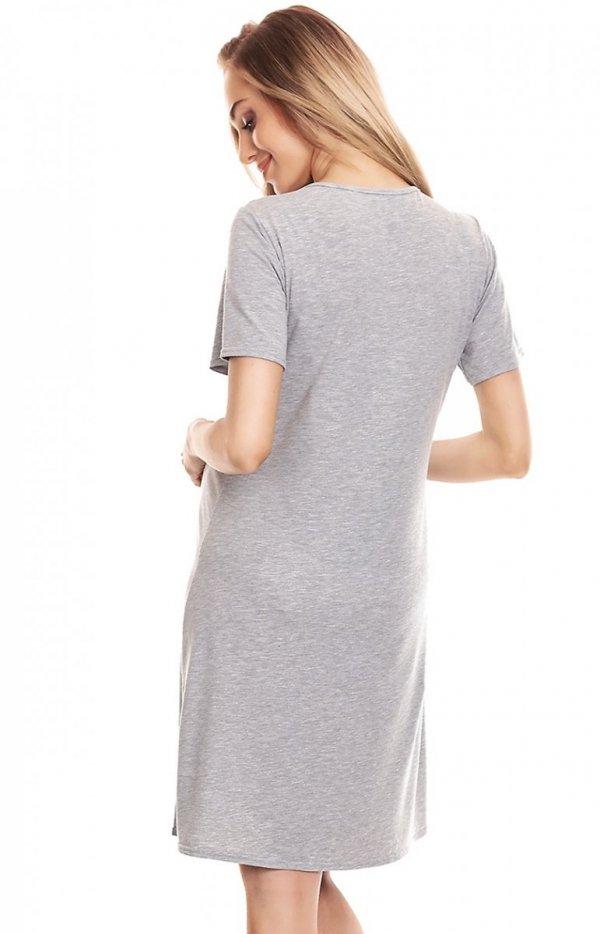 Ciążowa koszulka nocna damska 0132 tył