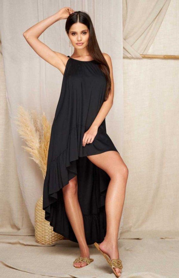 Asymetryczna letnia sukienka L368A