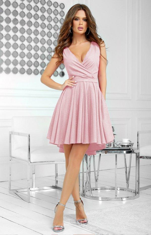 Elegancka błyszcząca sukienka 2215-1