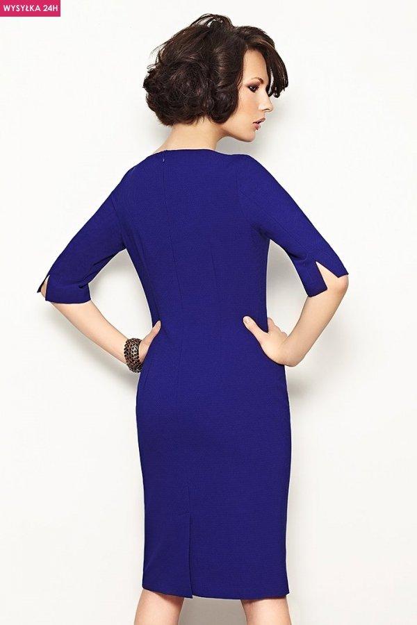 Vera Fashion Inga sukienka chabrowa tył