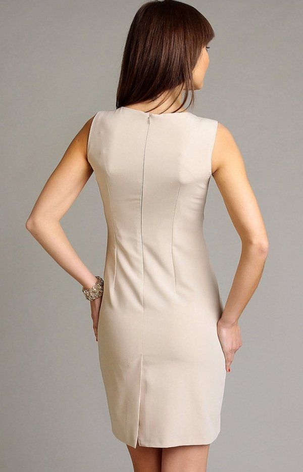 Vera Fashion Chantale sukienka beżowa