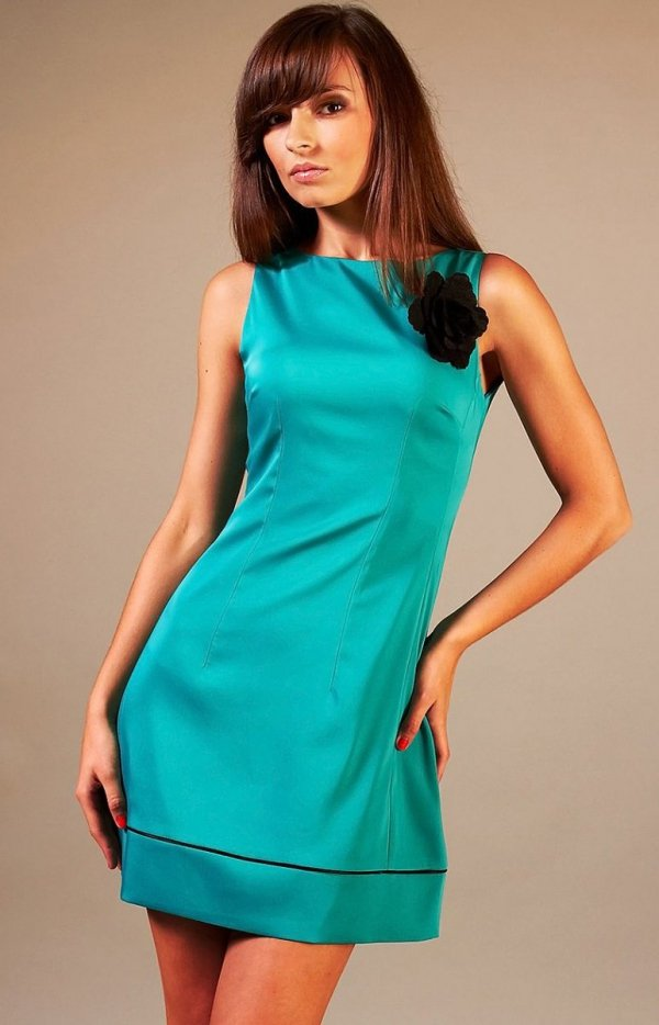 Vera Fashion Simone sukienka turkusowa