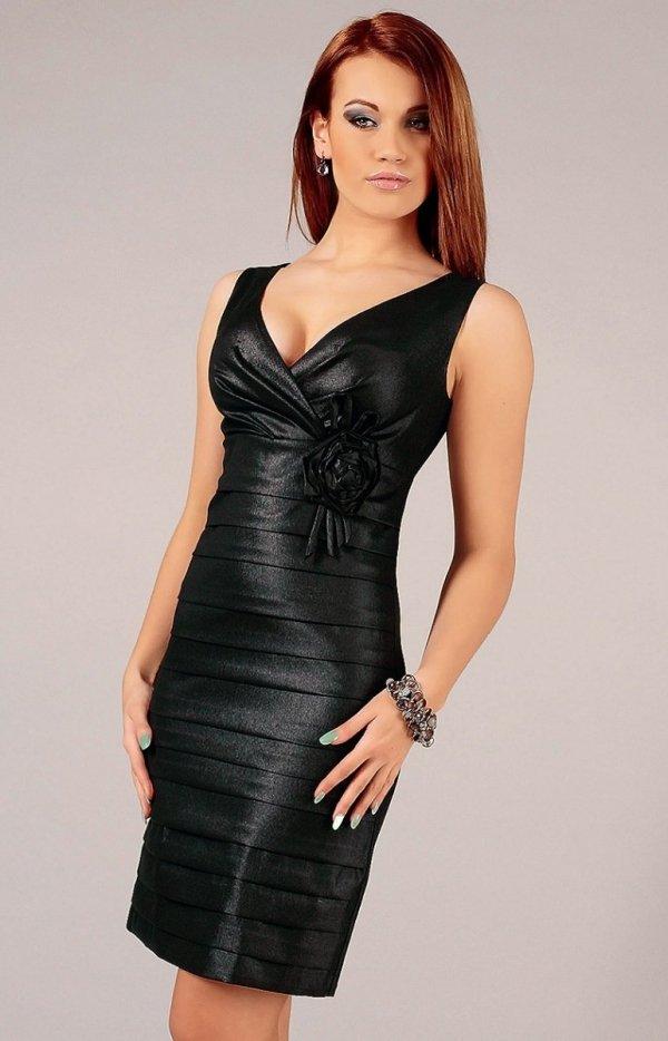 Vera Fashion Greta sukienka czarna