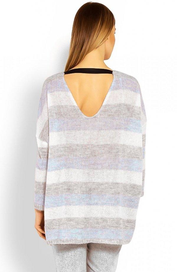 PeekaBoo 30057 sweter błękitny tył